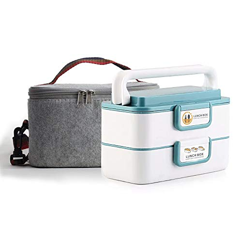 afb6f7129e94 Lille Home Stackable Stainless Steel Thermal Compartment Lunch Box ...