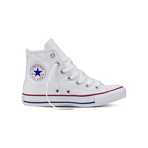 - Mens Converse Chuck Taylor All Star High Top Sneakers (Optical White, 9 D(M) US)