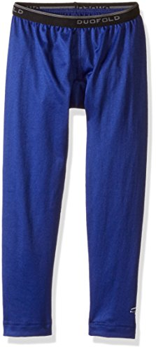 Duofold Big Boys' Mid Weight Varitherm Thermal Pant, Ultra Marine, S (Varitherm Thermals)