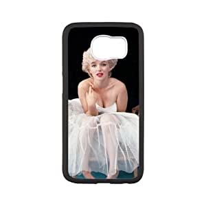 Samsung Galaxy S6 Cell Phone Case White Marilyn Monroe 002 Basic Cell Phone Carrying Cases LV_6096232