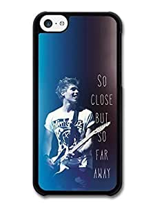 AMAF ? Accessories 5 Seconds of Summer Luke Hemmings Guitar and Lyrics case for iPhone 5C