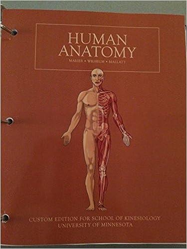 Human Anatomy University Of Minnesota Marieb Wilhelm Mallatt
