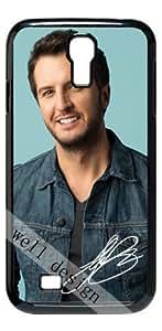 Luke Bryan Signed HD image case for Samsung Galaxy S4 I9500 black + Gift