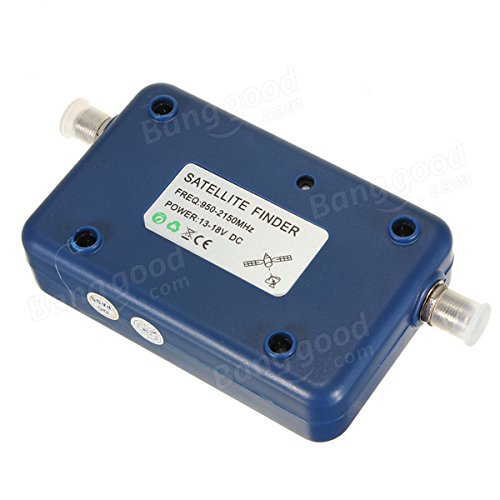 Pink Lizard SF-95DR Digital Satellite Signal Meter Finder Network Directv