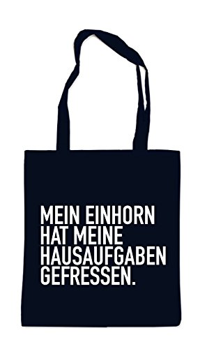 Mein Einhorn Hat... Bag Black Certified Freak