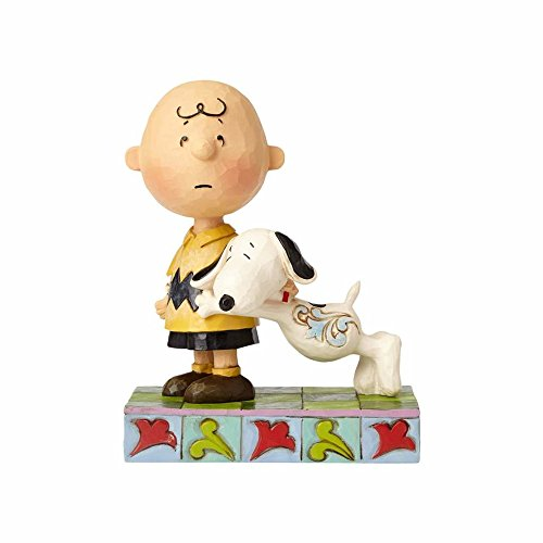 Enesco Peanuts by Jim Shore Charlie Brown and Snoopy, 5.25
