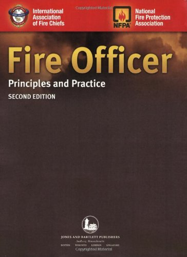 Fire Officer: Principles and Practice