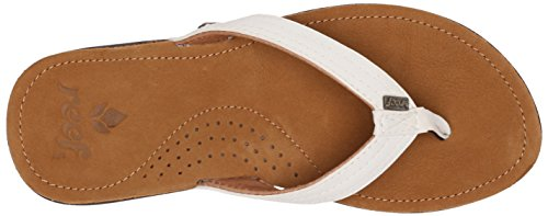 Bay Women's Miss Reef flop White J flip tx06zxqwH