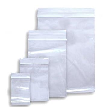 autocierre, transparente Polietileno resellable bolsas de ...