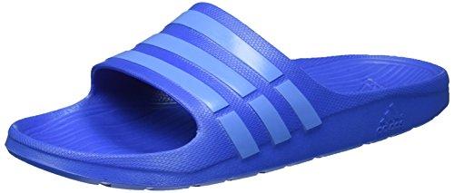 adidas Duramo Slide Unisexe-Adultes Douche et Chaussures de Bain Bleu (Bright Royal/Lucky Blue S15/Bright Royal)