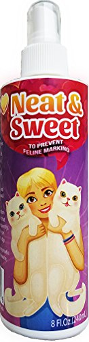 Neat & Sweet Stop Cat Marking Indoor Spray - For Feline Inappropriate Urination and Re-Soiling Caused by Behavioral Issues