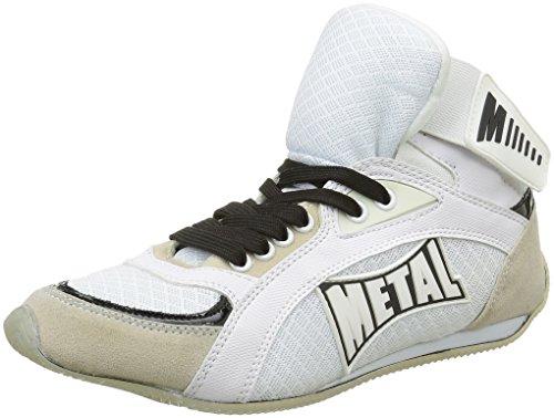 Altas Botas de Boxeo Blanco Metal Boxe Viper1 blanco nbsp; IwR477pFq