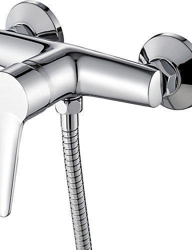 Wall Mounted Bathroom Faucet Bath Tub Mixer Tap With Shower Hose Shower