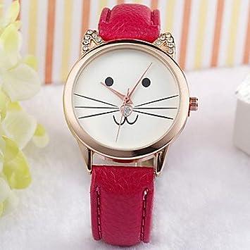 Bella relojes, Gato Reloj Cara, reloj, Vigilanza del gatito, Amanti ...