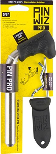 Pin Wiz Trailer Hitch Pin and Clip Combo | Black