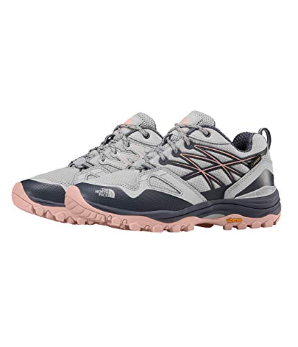 Woman Salt - The North Face Hedgehog Fastpack GTX Hiking Shoe - Women's Meld Grey/Pink Salt, 9.0