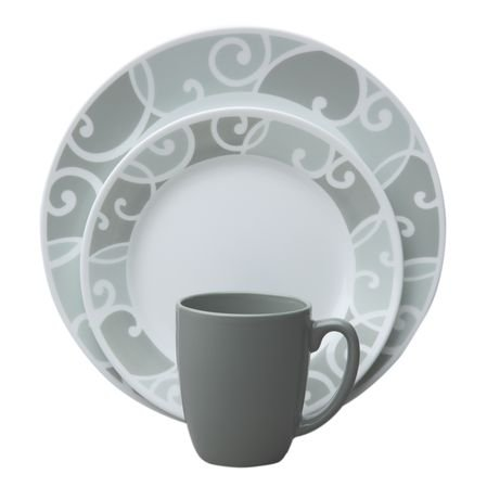Corelle® ViveTM Ribbons and Swirls 16-pc Set