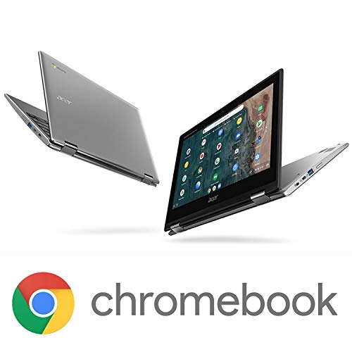 """Image of Acer Chromebook Spin 311 Convertible Laptop, Intel Celeron N4020, 11.6"""" HD Touch, 4"""