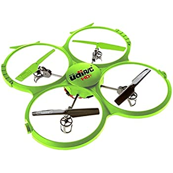 Force1 Drone with Video Camera 720p HD Camera Headless Mode 360° Flips UDI 818A HD drones for beginners Lime Green RC Quadcopter Discovery HD upgrade, UdiR/C