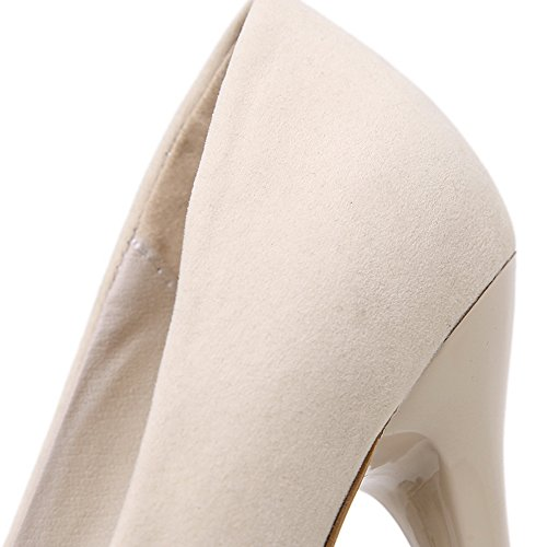 Unknown 1to9mmsg00155 - Ballerines Pour Femmes, Beige (abricot), 35