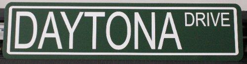 Motown Automotive Design Daytona Drive METAL STREET SIGN 6 X 24 Nascar Beach