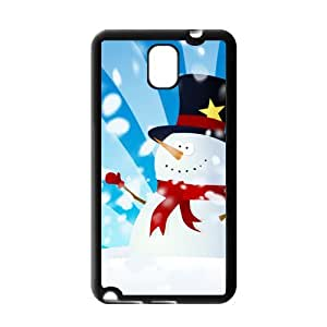 Painted Snowman back phone Case cover samsung galaxy note 3