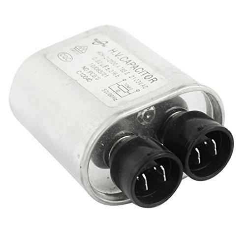 AC 2100V 0.82uF cilíndrico del horno microondas de alta ...