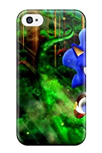 NewRmGd26667xiGOQ Tpu Case Skin Protector For Iphone 4/4s Sonic Video Game Other With Nice Appearance