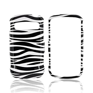 Black White Zebra Hard Plastic Case For Samsung Rookie R720