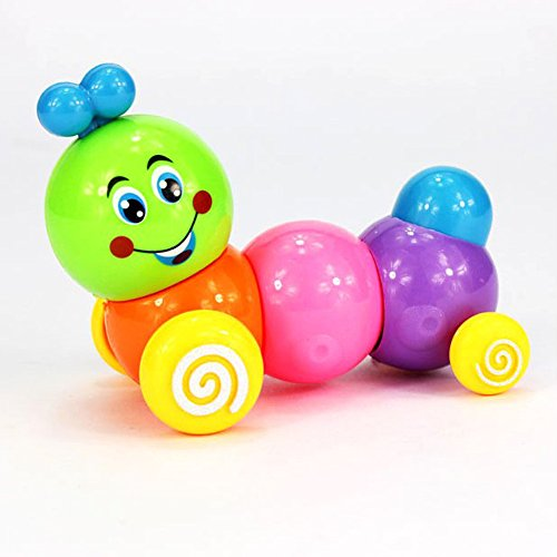 2 Pack Kids Child Develepmental Toy Movement Caterpillar Plastic Toys Wind-up Toys (Halloween Parade Clipart)
