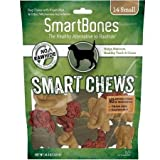 SmartChews Safari Chews for Dogs, Small, 14 Pieces/Pack