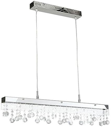 Lámpara de techo, LED, para comedor, cristal, lámpara ...