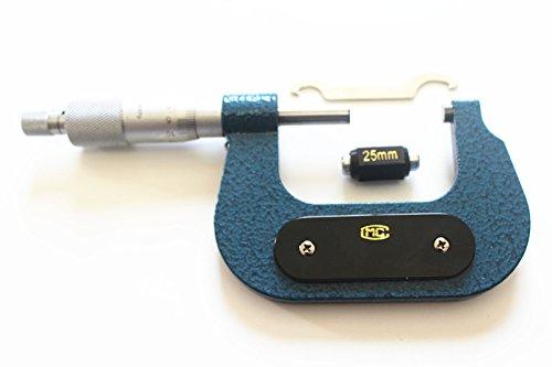 [해외]새로운 지름 마이크로 미터 25mm - 50mm 해상도 0.01mm 탄소강 기계 공구/New diameter micrometer 25mm-50mm resolution 0.01mm Carbon Steel mechanic