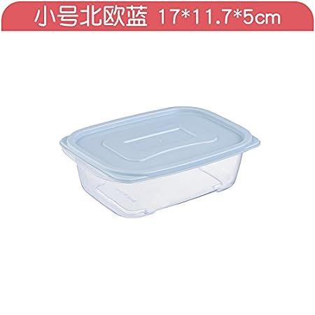 XXAICW Caja plástico transparente rectangular cocina congelador ...