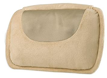Elegant Homedics Therapist Select SP 10H Shiatsu Pillow, Beige