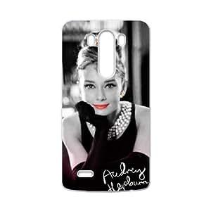 DASHUJUA Audrey Hepburn Cell Phone Case for LG G3