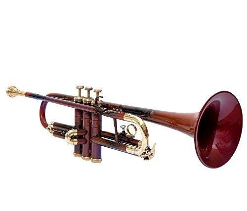 MP Nasir Ali brownishred Colored BB Trompeta bien ajustado para venta con gratuito caso