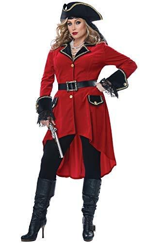 Xxl Pirate Costumes - California Costumes Size High Seas Heroine-Adult
