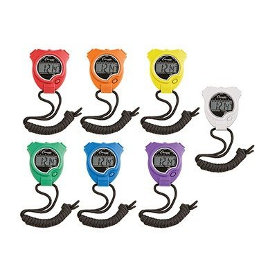 SCBCHS910SET-2 - STOP WATCH 6PK pack of 2 by Shoplet Best
