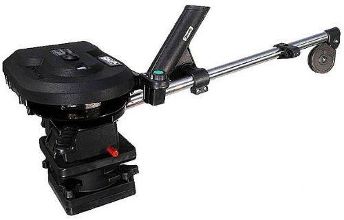 Scotty #1106 Depthpower Electric Downrigger w/ 60-Inch Telescopic Boom & Swivel Base, Rod Holder