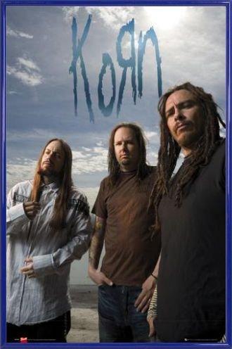 Korn Poster and Frame Plastic - Mtv Unplugged