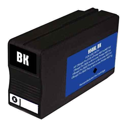 HouseOfToners Remanufactured Ink Cartridge Replacement for HP 950XL CN045AN (1 Black)