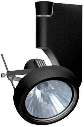 (Jesco Lighting HMH270T4NF20-B Contempo 270 Series Metal Halide Track Light Fixture, T4 24-Degree Narrow Flood, 20 Watts, Black Finish)