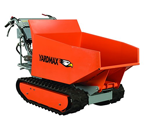 YARDMAX YD8105 Track Barrow with Hydraulic Assist, 1100 lb. Capacity, Briggs and Stratton, CR950, 6.5 hp, 208cc ()