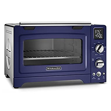 KitchenAid KCO275BU Convection 1800-watt Digital Countertop Oven, 12-Inch, Cobalt Blue