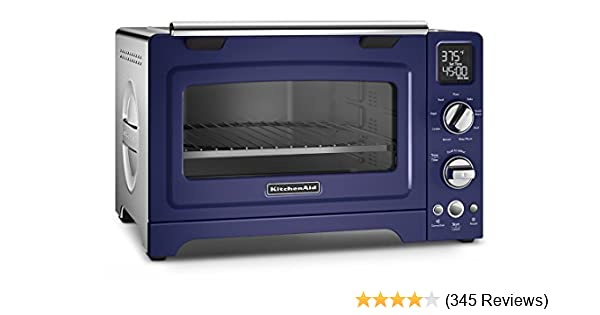 User Manual Kitchenaid 6 Slice Blue Convection Toaster