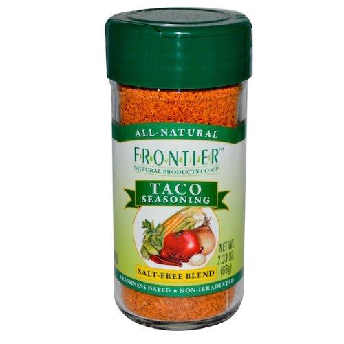 Frontier Taco Salt-Free Seasoning -- 2.25 oz