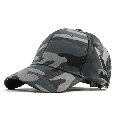 Duseedik Unisex Trucker Cap Military Camouflage Special Tactical Operator Forces USA Flag Patch Baseball Cap (BlackA)