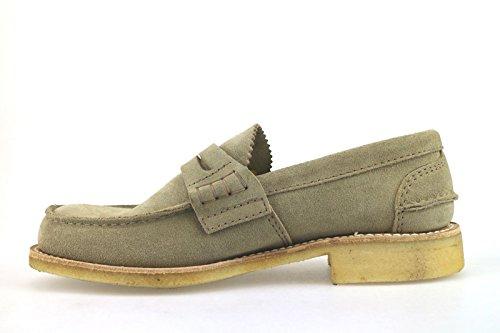 Chaussures Homme CHURCH'S Mocassins beige daim AH483