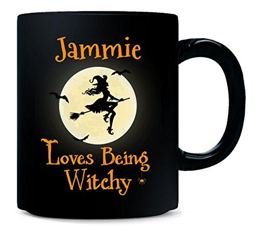 Jammie Loves Being Witchy Halloween Gift - Mug -